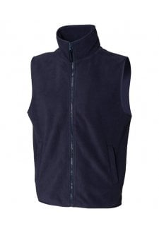 HB855 Sleeveless MicroFleece Jacket (Small to 2XLarge) 2 COLOURS