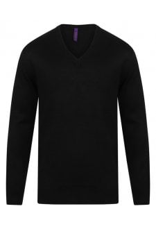 HB760 Cashmere Touch Acrylic V-Neck Jumper (XXSmall to 4Xlarge)