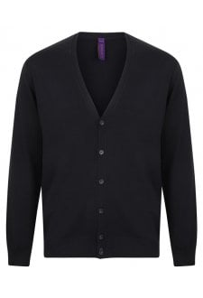 HB722 V-Button Cardigan (XSmall to 4XLarge)
