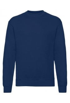 SS200 Classic 80/20 Set-In SweatShirt (Small to 3XLarge) 11 COLOURS