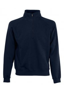 SS830 Premium 1/4 Zip Neck Sweat (Small to 2Xlarge) 7 COLOURS
