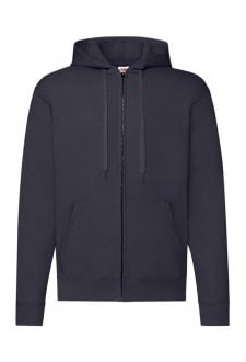 SS222 Classic 80/20 Zipped Hooded Sweatshirt Jacket (Small to 2XLarge) 9 COLOURS