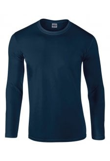 GD011 SoftStyle Long Sleeved T-Shirt (Small To 2XL) 8 COLOURS