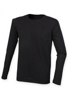 SF124 Feel Good Long Sleeved Stretch T-Shirt (SmallTo2XL) 3 COLOURS