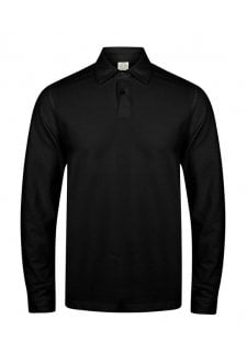 SFM44 Mens Long Sleeved Polo Shirt  (Small to 2XLarge) 2 Colours