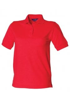 HB401 Ladies Fit Polo Shirt 65/35 (XSmall to 3XL) 15 COLOURS