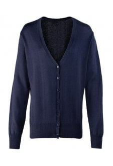 PR697 Women's button-through knitted cardigan (XSmall to 4XLarge) 8 COLOURS