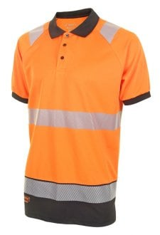 HVTT010 Two Tone Hi Vis Polo Shirt (Small to 4XLarge) 2 COLOURS