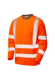 TO8OR Class 3 Coolviz Plus Sleeved T-Shirt Orange