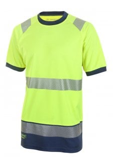HVTT001 Hi Vis Two Tone T Shirt (Small to 4XLarge) 2 COLOURS