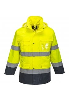 S162 Portwest 3 in 1 Hi Vis Jacket (Small to 3XLarge) 2 COLOURS