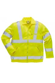 E040 Hi-Vis Ground Workers  Jacket (Small To 3XL)