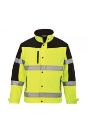 S429 Two Tone Softshell Jacket (Small To 3XL)