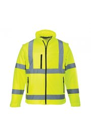 S428 Hi-Vis Softshell Jacket (Small To 4XL)