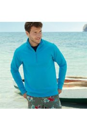 SS927 LightWeight Zip Neck SweatShirt (Small to 2Xlarge)