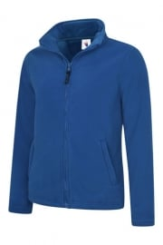 UC608 Ladies Classic Full Zip Fleece Jacket (XSmall To 4XL)