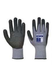 A351 Dermiflex plus PU Nitrile Foam Dotted Palm Glove