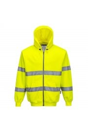 B305 Hi-Visibility Full Zip Hoody (Small To 3XL)