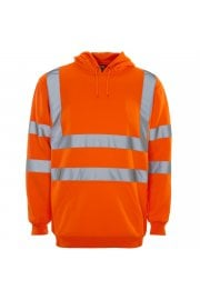 36481 Supertouch Hi Vis Orange Hooded Sweatshirt (Small to 4XLarge)
